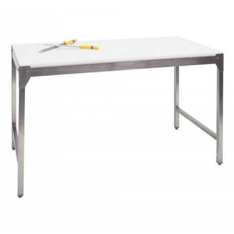 CHASSIS DE TABLE SIMPLE INOX 100X70X90CM