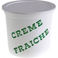 POT A CREME FRAICHE PP DECOR VACHE 50CL /250