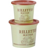 Pot à rillettes maison PS beige 50CL /250